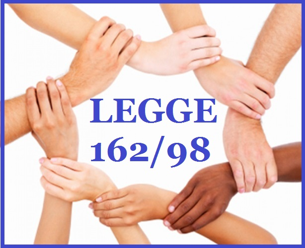 LEGGE 162/98  PROROGA - PRESENTAZIONE NUOVI PIANI SCADENZA 31 MARZO 2021