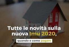 AVVISO AI CONTRIBUENTI NUOVA IMU 2020