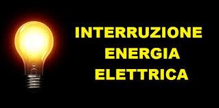 AVVISO DI INTERRUZIONE ENERGIA ELETTRICA 24 GENNAIO 2019